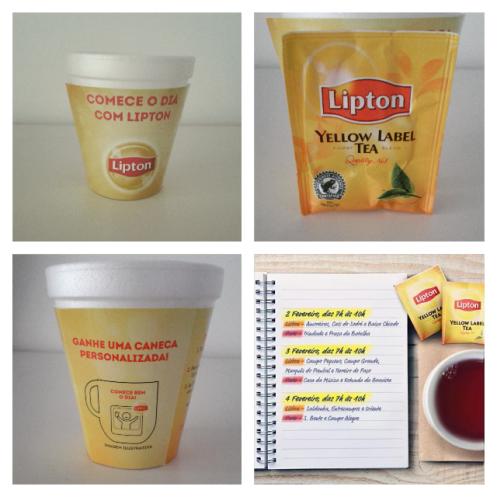 Chá Preto Lipton